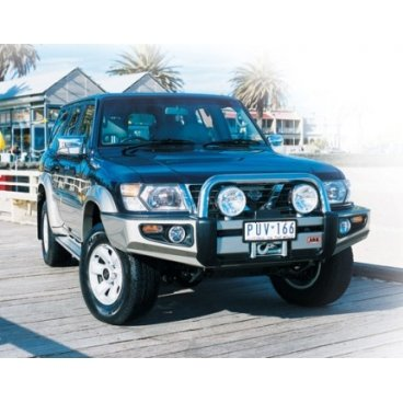Передний бампер ARB Sahara на Nissan Partol GU Y61 2004-2014г.  (3917130)
