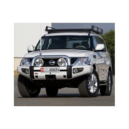Передний бампер ARB Sahara на Nissan Patrol GU Y62 (без места под лебедку) 2010-2014г. (3927010)