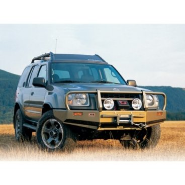 Передний бампер ARB Deluxe на Nissan Partol Xterra 2000-2004г. под лебедку (3438110)