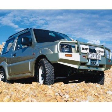 Передний бампер ARB Deluxe на Suzuki Jimny 1998-2005г. под лебедку (3424030)