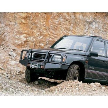 Передний бампер ARB Deluxe на Suzuki Vitara 1989-1998г. (2 двери) под лебедку (3426010)