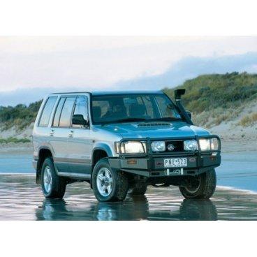 Передний бампер ARB Deluxe на Holden Jackaroo под лебедку 1998-2014г. (3444060)