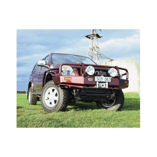 Передний бампер ARB Deluxe на Holden Rodeo 2003-2007г. под лебедку(3448100)