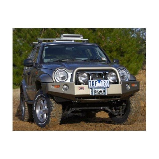 Передний бампер ARB Deluxe на Jeep Cherokee KJ 2005-2008г. под лебедку (3450120)