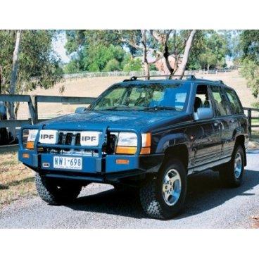 Передний бампер ARB Deluxe на Jeep Grand Cherokee ZJ 1993-1998г. под лебедку (3450060)