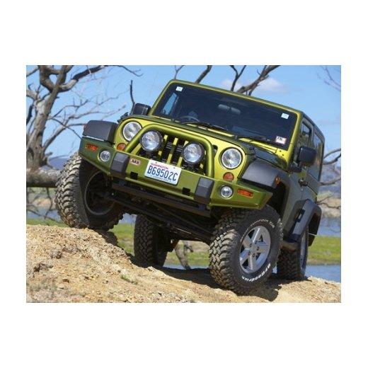 Передний бампер ARB Deluxe на Jeep Wrangler JK 2007-2014г. под лебедку (3450200)