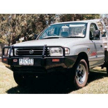 Передний бампер ARB Deluxe на Mazda B Series Mark 7 1999-2007г под лебедку (3440050)