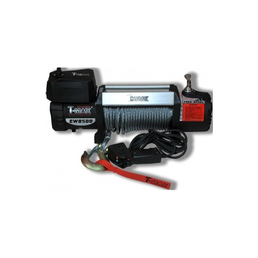 Лебедка T-Max Hew-8500 X Power Series (Waterproof)