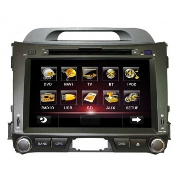 Штатное головное устройство Globex GU8121 Kia Sportage 2010