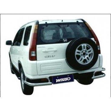 Защита заднего бампера Winbo (D150212) на Honda CRV