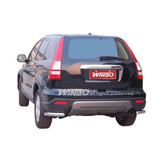 Защита заднего бампера Winbo (D 150512) на Honda CRV