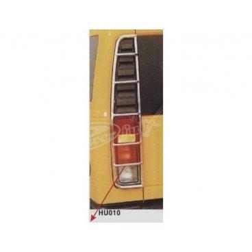 Защита стопов PowerFull (HU010) на Hummer