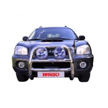 Передняя защита Winbo (A130006) на Hyundai Santa Fe
