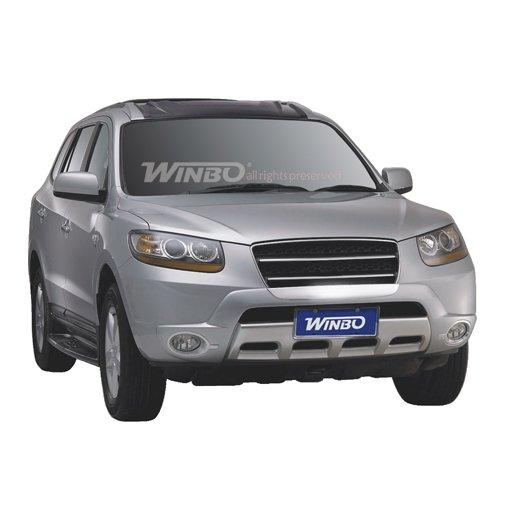 Передняя защита Winbo (DJ06042802) на Hyundai Santa Fe
