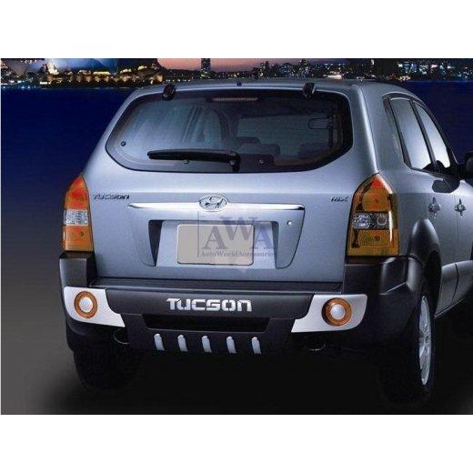 Защита заднего бампера GSC (022101) на Hyundai Tucson