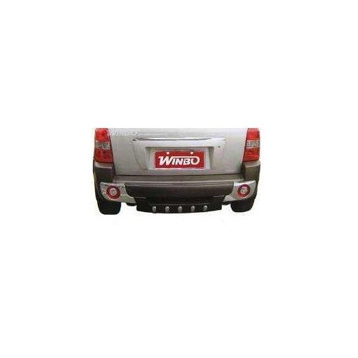 Защита заднего бампера Winbo (WD13339900) на Hyundai Tucson