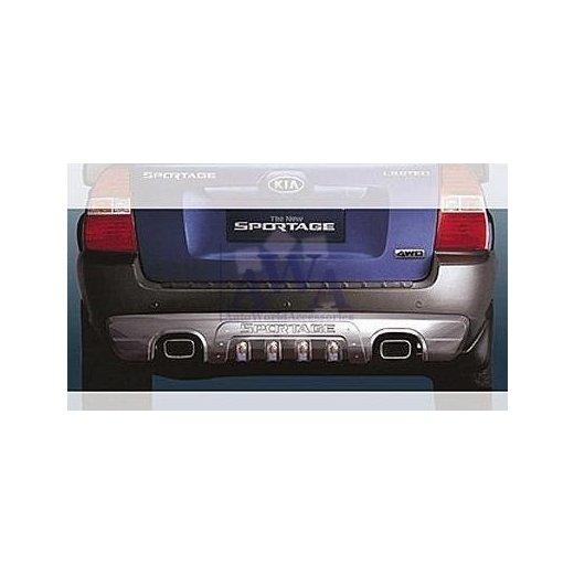 Защита заднего бампера Mobis (022152) на Kia Sportage