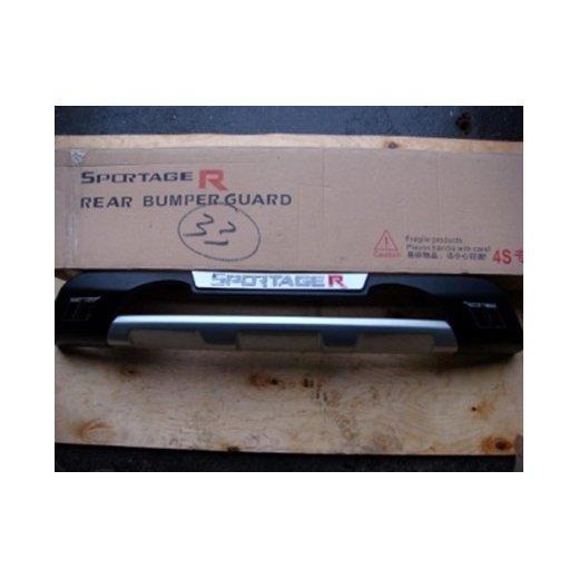 Защита заднего бампера Single (810F106F) на Kia Sportage