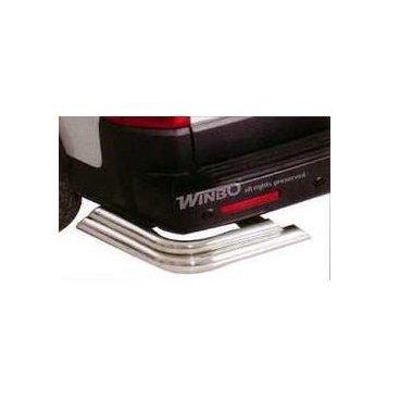 Защита заднего бампера Winbo (D190212) на Land Rover Discovery 3