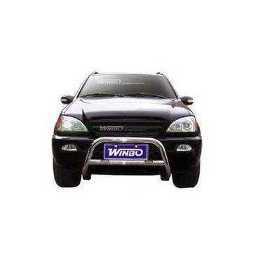 Передняя защита Winbo (A140003С) на Mercedes ML320