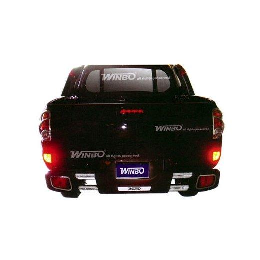 Защита заднего бампера Winbo (D124537) на Mitsubishi L200