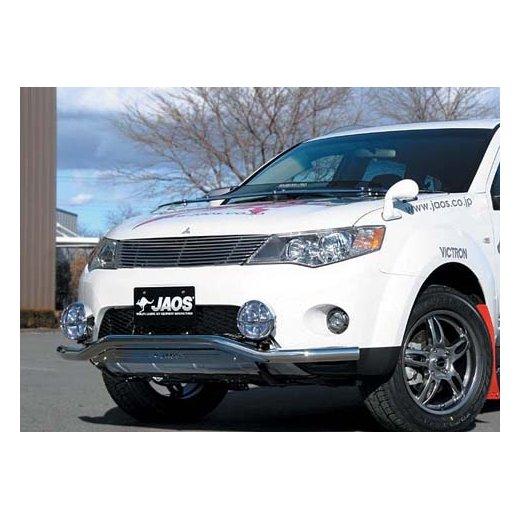 Передняя защита Jaos (B151342) на Mitsubishi Outlander