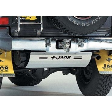 Защита бензобака Jaos (B266321B) на Mitsubishi Pajero