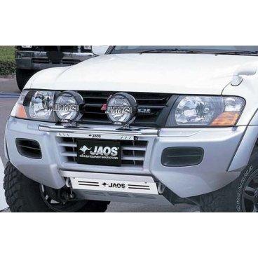 Защита поддона Jaos (201312) на Mitsubishi Pajero