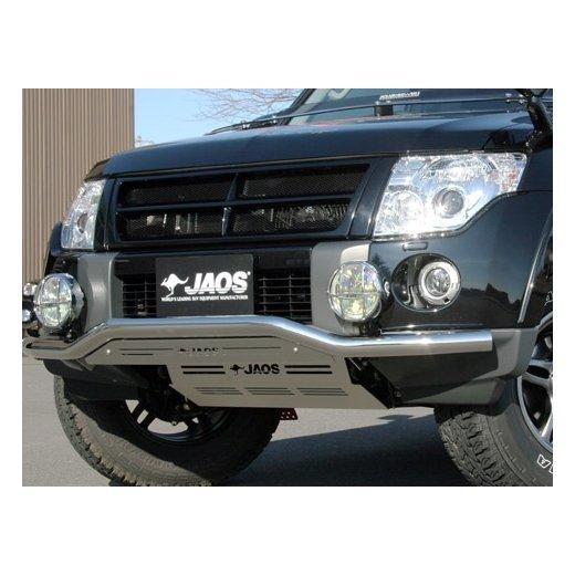 Защита поддона Jaos (201312_06) на Mitsubishi Pajero