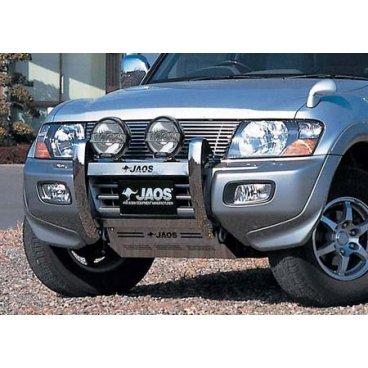 Защита поддона Jaos (B250325) на Mitsubishi Pajero