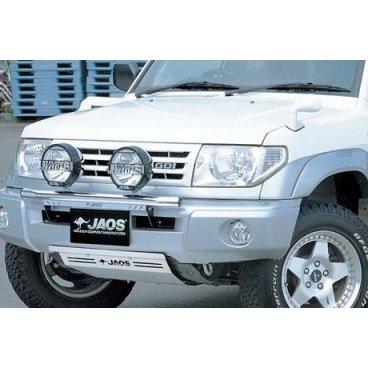 Защита поддона Jaos (B250350) на Mitsubishi Pajero