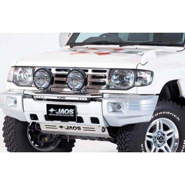 Защита поддона Jaos (тип C) (B250323C) на Mitsubishi Pajero