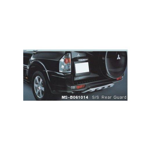 Защита заднего бампера PowerFull (MS-B061014) на Mitsubishi Pajero