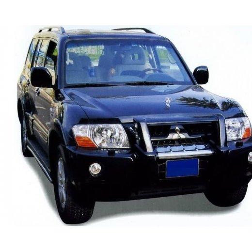 Передняя защита PowerFull (MS-A061012) на Mitsubishi Pajero