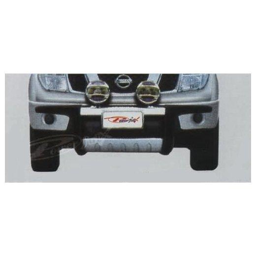 Передняя защита PowerFull (NS-A096) на Nissan Paladin