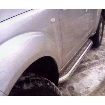 Пороги Vnedorognik на Nissan Pathfinder