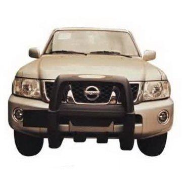 Передняя защита PowerFull (NS-A065) на Nissan Patrol