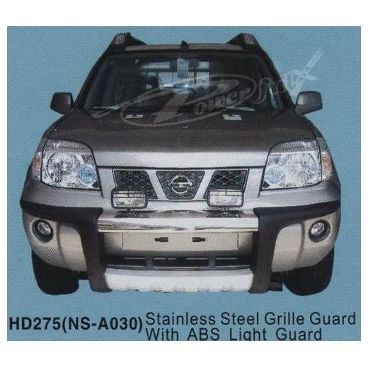 Передняя защита PowerFull (NS-A030) на Nissan X-Trail