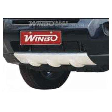 Накладка под передний бампер Winbo (E114520) на Nissan X-Trail