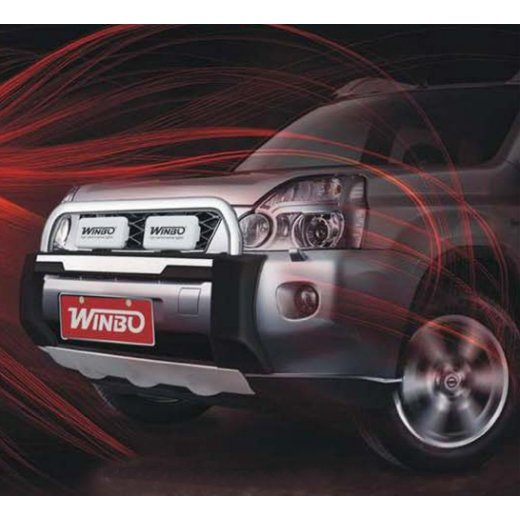 Передняя защита Winbo (A114539) на Nissan X-Trail