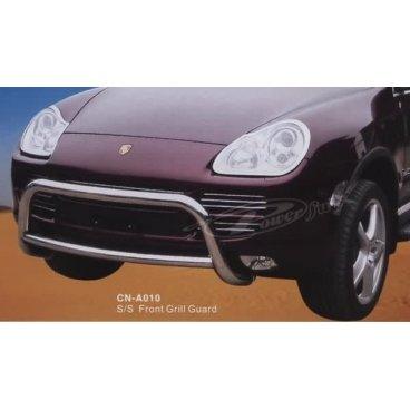 Передняя защита PowerFull (CN-A010) на Porsche Cayenne