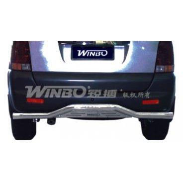 Защита заднего бампера Winbo (D260500) на Shuguang Aurora