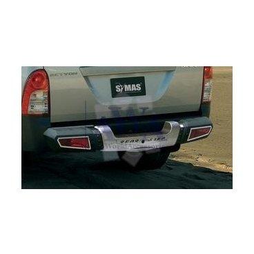 Защита заднего бампера Symas (022302) на SsangYong Actyon Sport