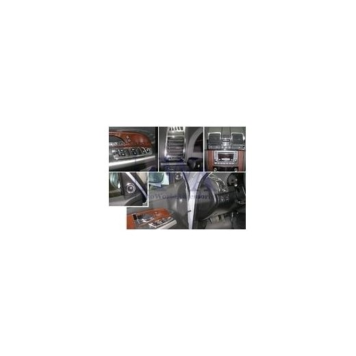 Молдинги интерьера Safe (381305) на SsangYong Rexton