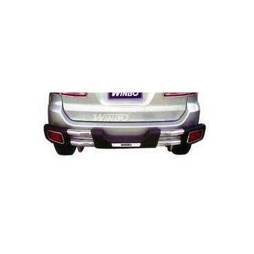 Защита заднего бампера Winbo (D097737) для Toyota Fortuner