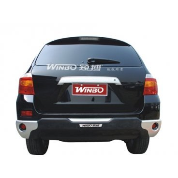 Защита заднего бампера Winbo (D091099) на Toyota Highlander