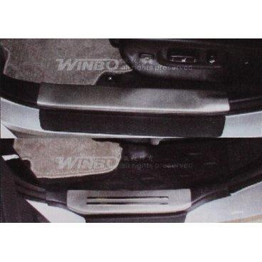Накладки на пороги Winbo (WF09100900) на Toyota Highlander
