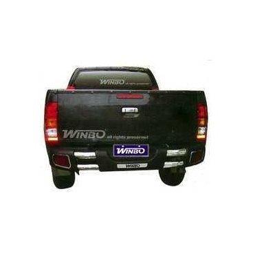 Защита заднего бампера Winbo (D092937) для Toyota Hilux