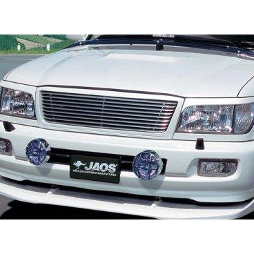 Pешетка радиатора Jaos (алюминий) Toyota LC100 (02-06)