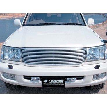 Pешетка радиатора Jaos (алюминий) Toyota LC100 (98-02)